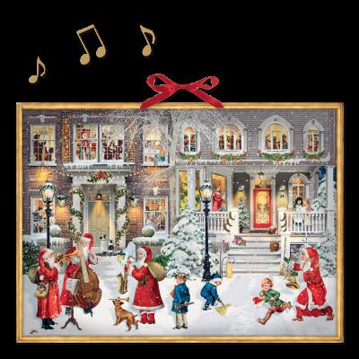 Адвент-календарь с музыкой