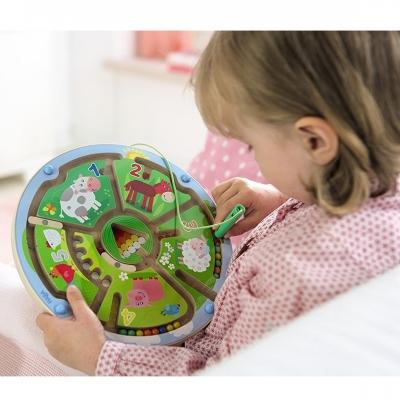 Магнитная игрушка-сортер