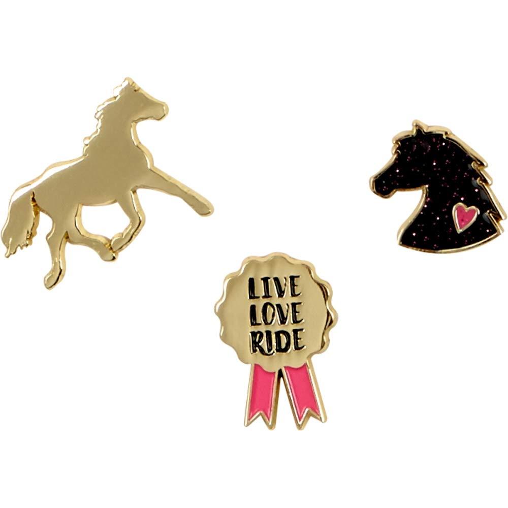 "Значки ""Друзья Лошадей"" I❤️Horses"