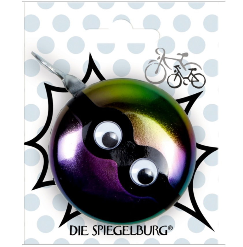 """Звонок на велосипед """"Глаза"""" мальчик"""