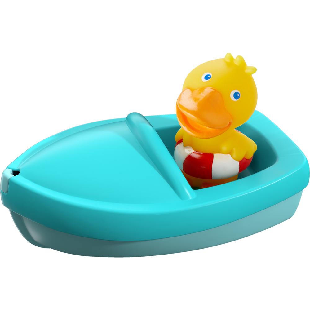 """Игрушка в ванную """"Уточка в лодке"""""""
