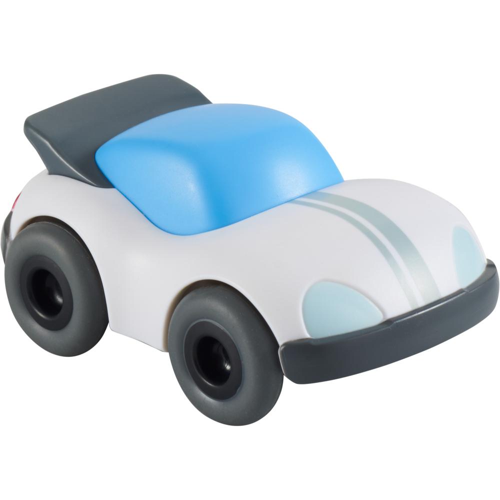 Машинка гоночная белая с моторчиком