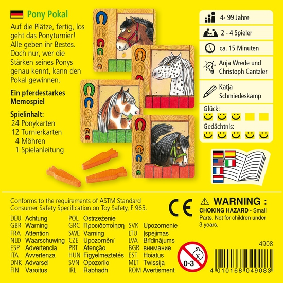 """Настольная игра """"Турнир для Пони"""" (от 4х лет)"""