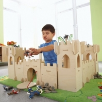 Деревянный рыцарский замок