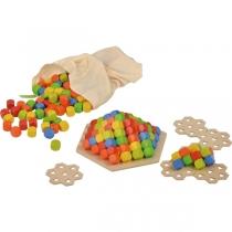 Пирамидка из кубиков