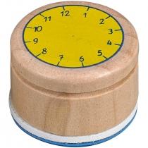 """Штампик для изучения времени """"Подарочек"""""""