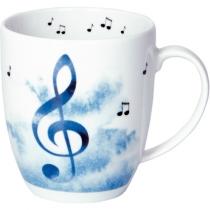 """Чашка """"Звуки музыки"""" ноты"""