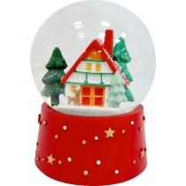 """Снежный шар """"Рождество в лесу"""""""