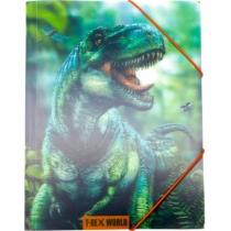 "Папка на резинке ""Мир Динозавров"""