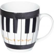 """Чашка """"Звуки музыки"""" фортепиано"""