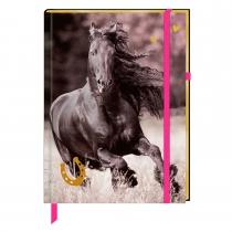 """Блокнот """"Друзья Лошадей"""" на резинке"""