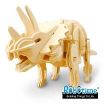 Интерактивный конструктор Трицератопс (3D паззл)