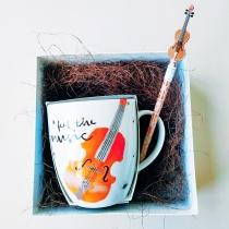 """Подарочный набор """"Звуки музыки"""" маленький"""